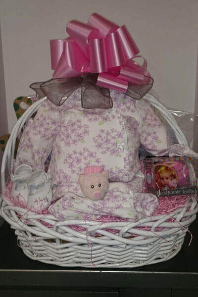 Gift baskets in long island for all occasions custom gift baskets baby girl basket negle Image collections